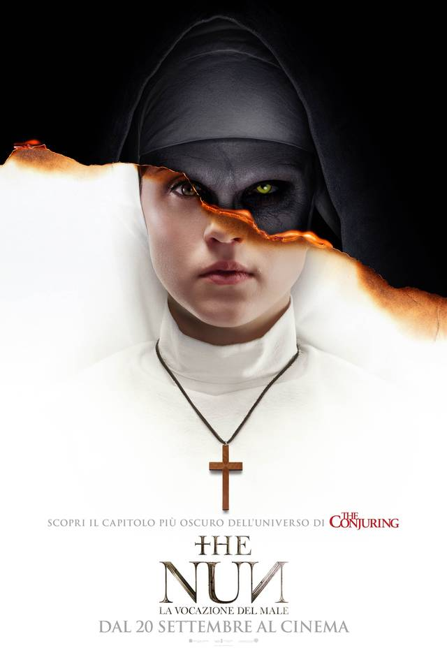 The Nun - La Vocazione del Male poster italia 02