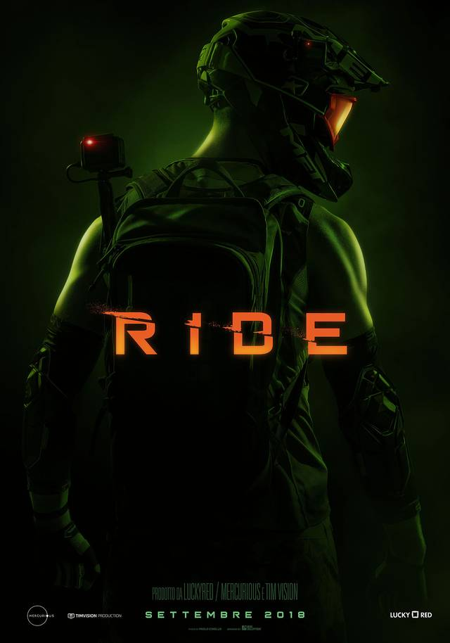 Ride Teaser Character Poster Italia 2