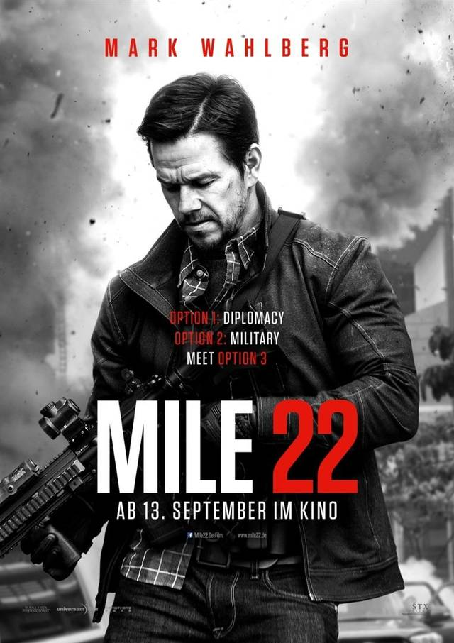 Mile 22 Teaser Poster USA