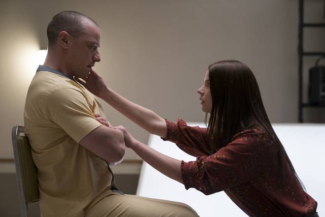 Glass James McAvoy Anya Taylor-Joy foto dal film 6