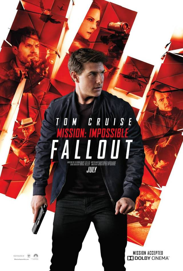 Mission Impossible Fallout Teaser Poster USA