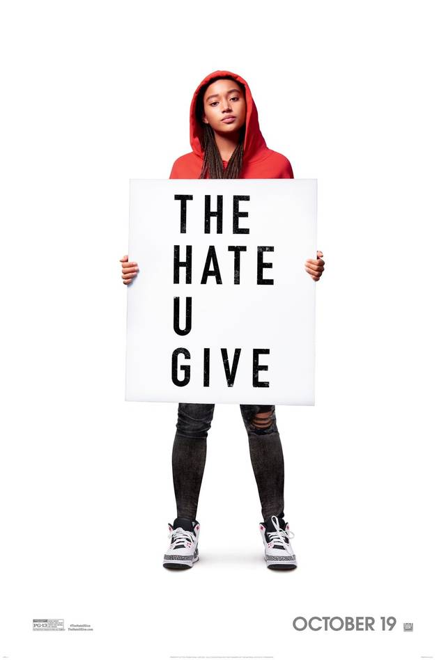 Il primo poster di The Hate U Give cita la copertina del libro