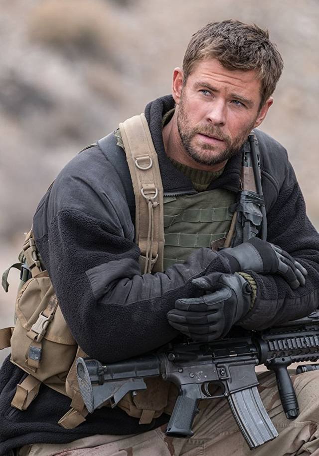 12 Soldiers Chris Hemsworth foto dal film 3