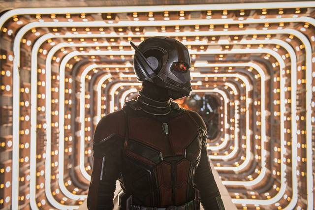 Ant-Man and the Wasp Paul Rudd foto dal film 4
