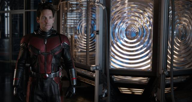 Ant-Man and the Wasp Paul Rudd foto dal film 5