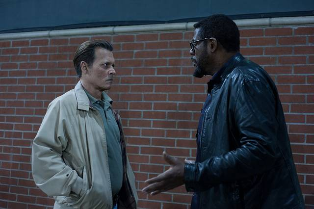 City of Lies - L'ora della verità Johnny Depp Forest Whitaker foto dal film 1