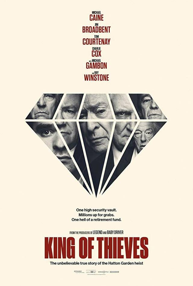 King of Thieves Teaser Poster UK 1