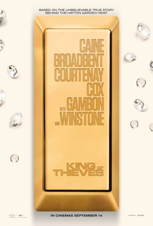 King of Thieves Teaser Poster UK 4