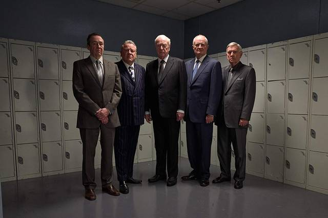 King of Thieves Michael Caine Jim Broadbent Tom Courtenay Paul Whitehouse Ray Winstone foto promozionale 1