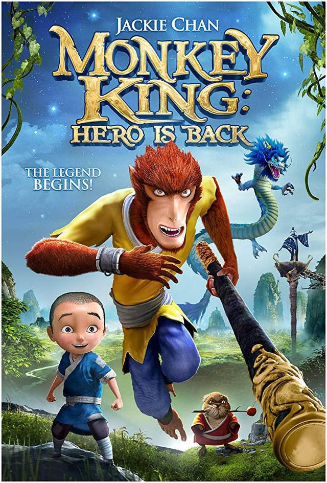 Monkey King – The Hero is Back Teaser Poster Internazionale