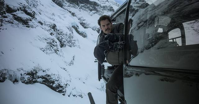 Mission Impossible - Fallout Henry Cavill foto dal film 2