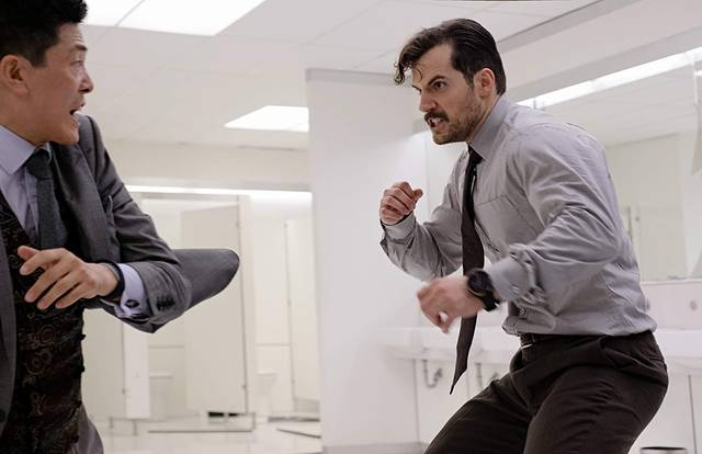 Mission Impossible - Fallout Henry Cavill foto dal film 4