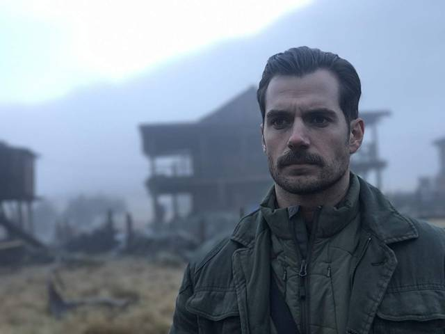Mission Impossible - Fallout Henry Cavill foto dal film 5