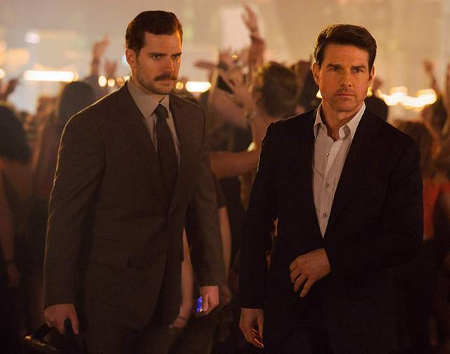 Mission Impossible - Fallout Tom Cruise Henry Cavill foto dal film 2