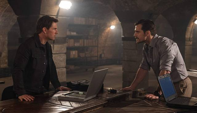 Mission Impossible - Fallout Tom Cruise Henry Cavill foto dal film 4