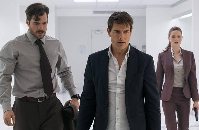 Mission Impossible - Fallout Tom Cruise Henry Cavill foto dal film 5