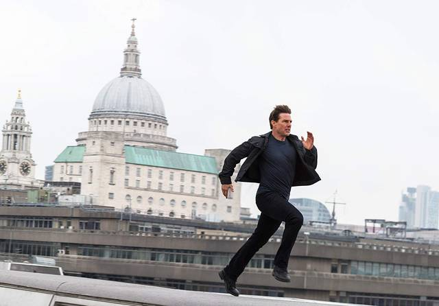 Mission Impossible - Fallout Tom Cruise foto dal film 3