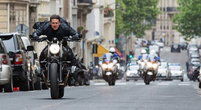 Mission Impossible - Fallout Tom Cruise foto dal film 4