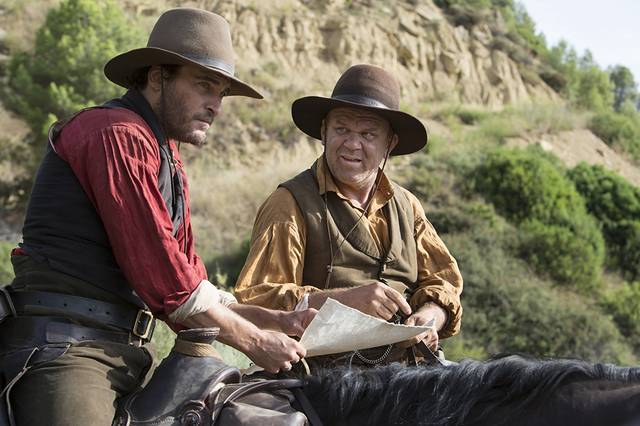 The Sisters Brothers John C. Reilly Joaquin Phoenix foto dal film 1