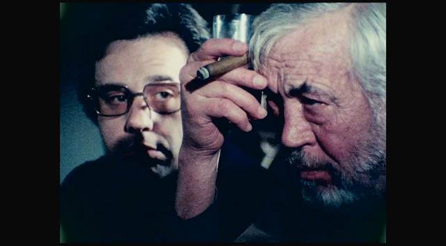 The Other Side of the Wind Orson Welles sul set foto 2