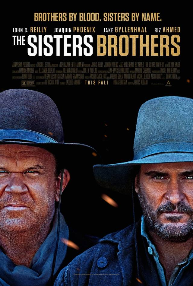 The Sisters Brothers Teaser Poster USA 2