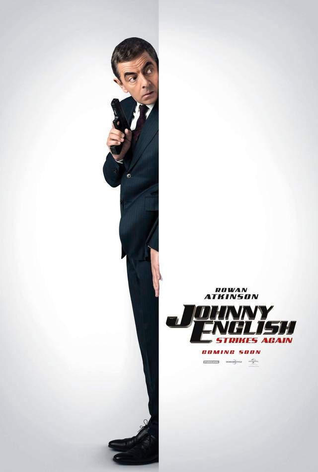 Johnny English Colpisce Ancora Teaser Poster UK