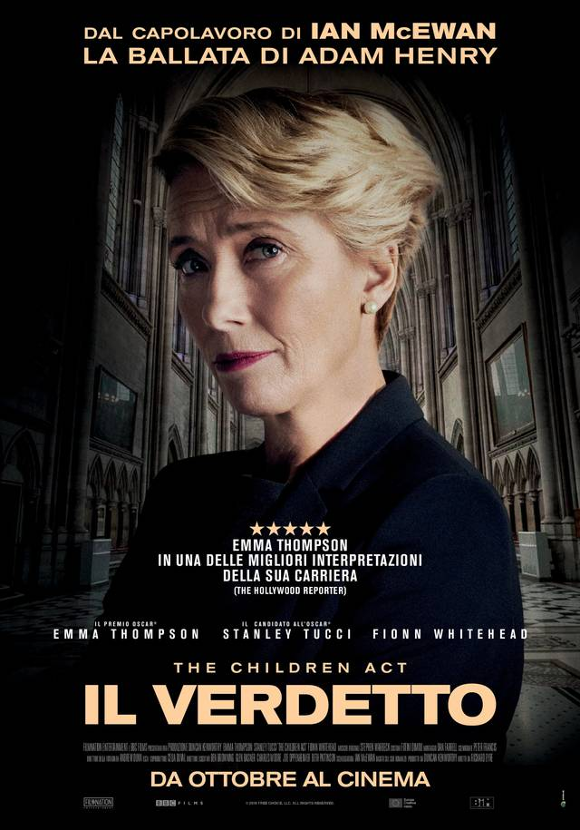 The Children Act - Il verdetto Poster Italia