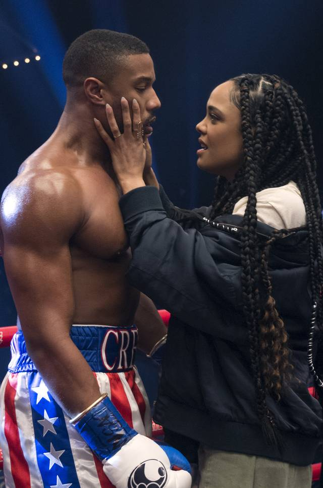 Creed II - Tessa Thompson Michael Bakari Jordan_foto dal film 5