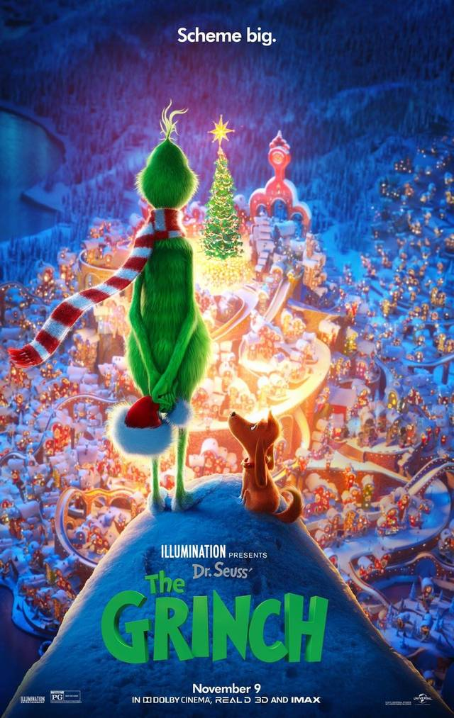 Il Grinch Teaser Poster USA 4