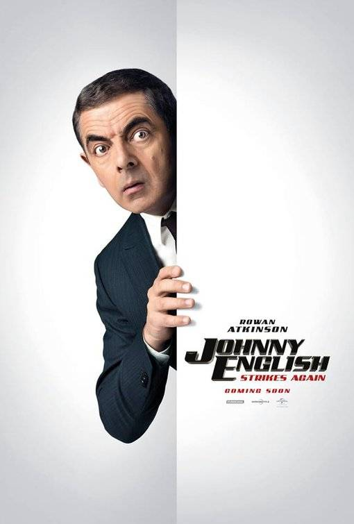Johnny English Colpisce Ancora Teaser Character Poster UK