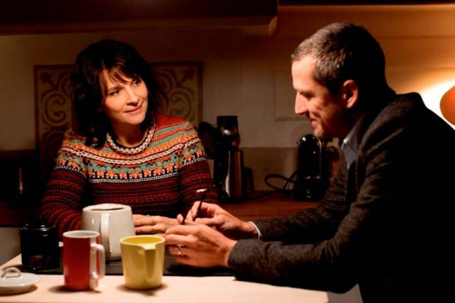 Non-Fiction Juliette Binoche Guillaume Canet foto dal film 1