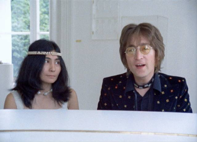 Imagine - John Lennon Yoko Ono_ film documentario musicale foto 6