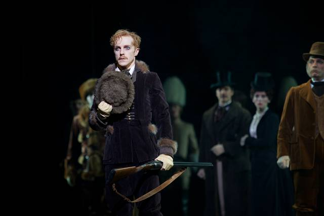 Mayerling. Steven McRae as Prince Rudolf. ROH, 2017. Ph. Alice Pennefather foto 6