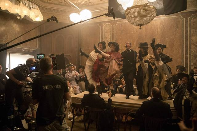 Colette Dominic West foto dal film 3