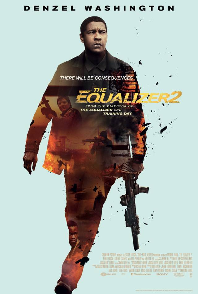 The Equalizer 2 Poster USA 3