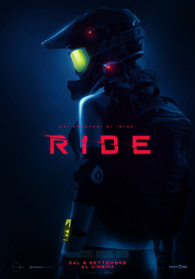 RIDE Teaser Character Poster Italia 3