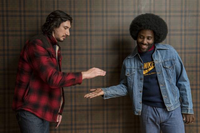 BlacKkKlansman_Adam Driver John David Washington_foto dal film 1