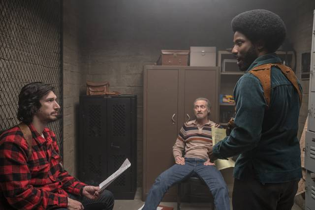 BlacKkKlansman_Adam Driver John David Washington_foto dal film 2