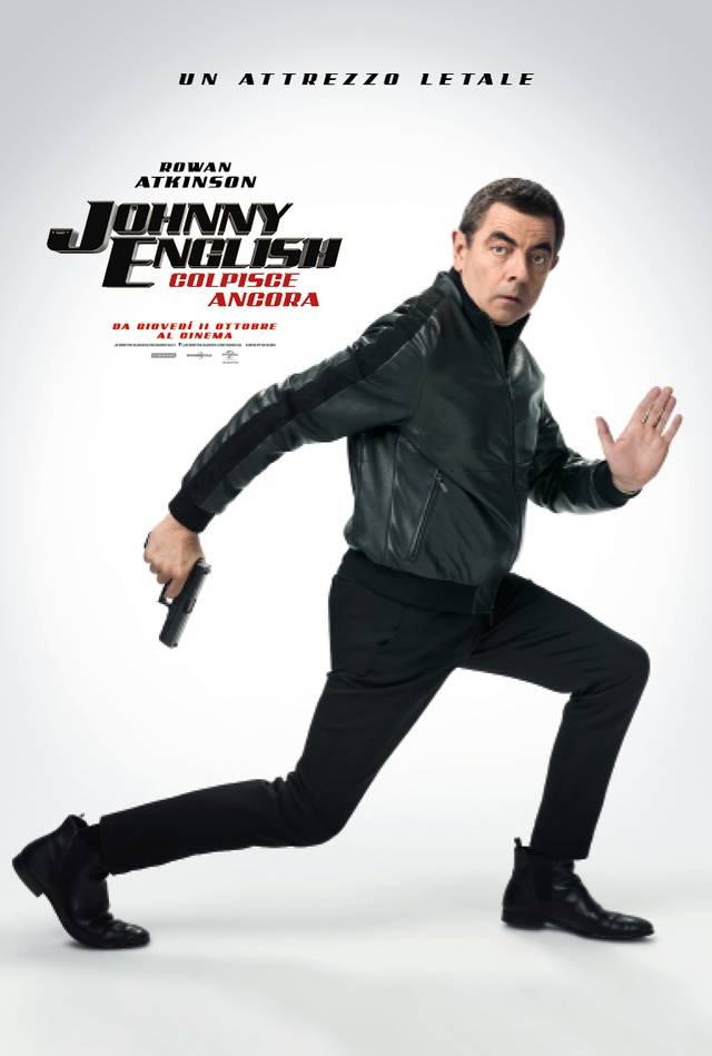 Johnny English Colpisce Ancora_Teaser Character Poster Italia 2