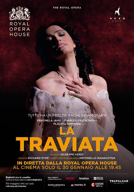 The Royal Opera - La traviata Poster Italia