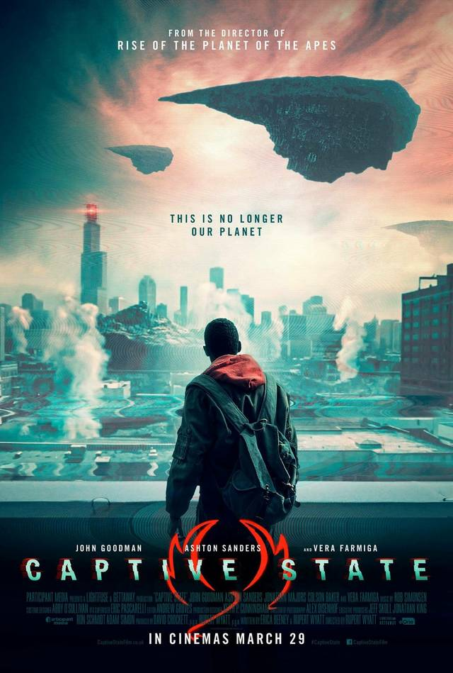Captive State Poster USA