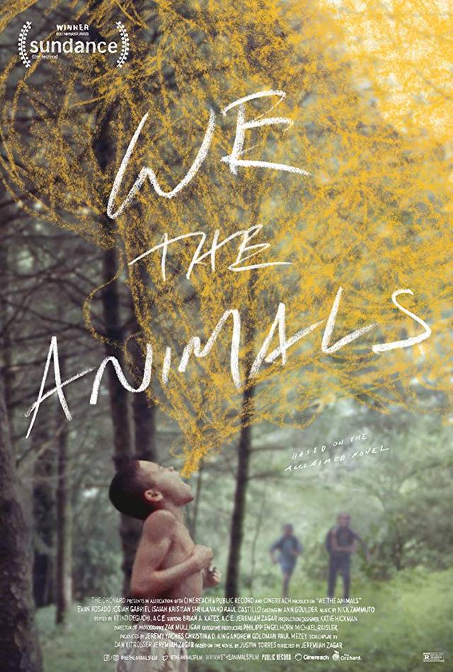 We the Animals Teaser Poster Internazionale
