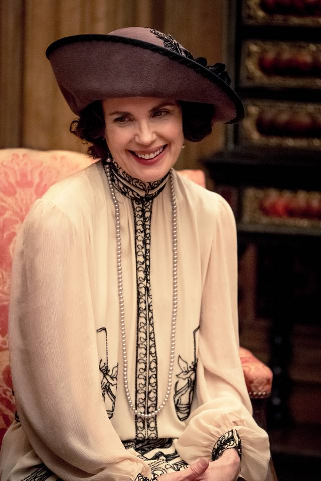 Downton Abbey Elizabeth McGovern foto dal film 1