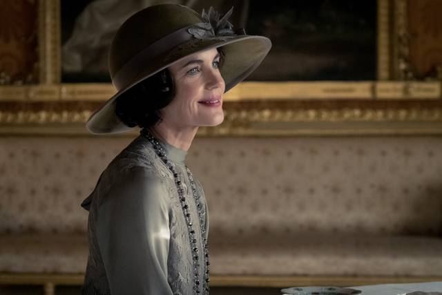 Downton Abbey Elizabeth McGovern foto dal film 2