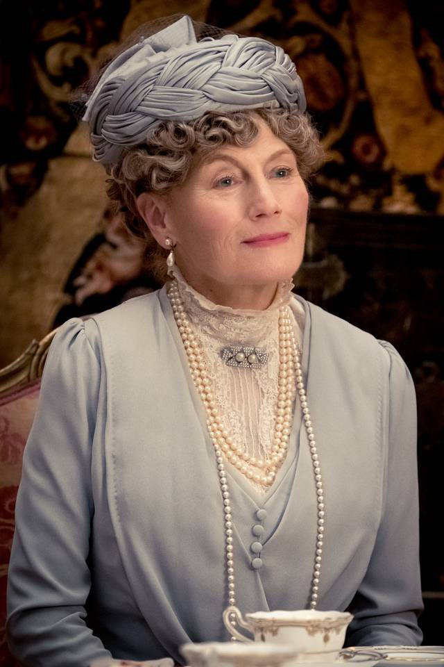 Downton Abbey Geraldine James foto dal film 3