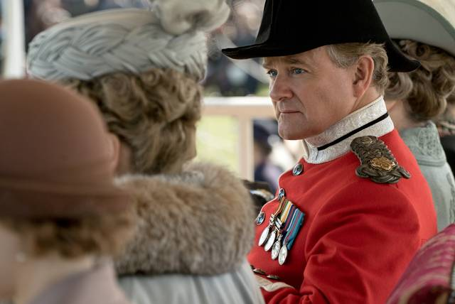 Downton Abbey Hugh Bonneville foto dal film 1