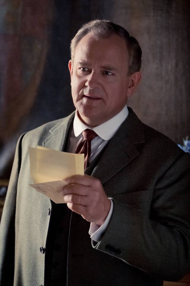 Downton Abbey Hugh Bonneville foto dal film 2