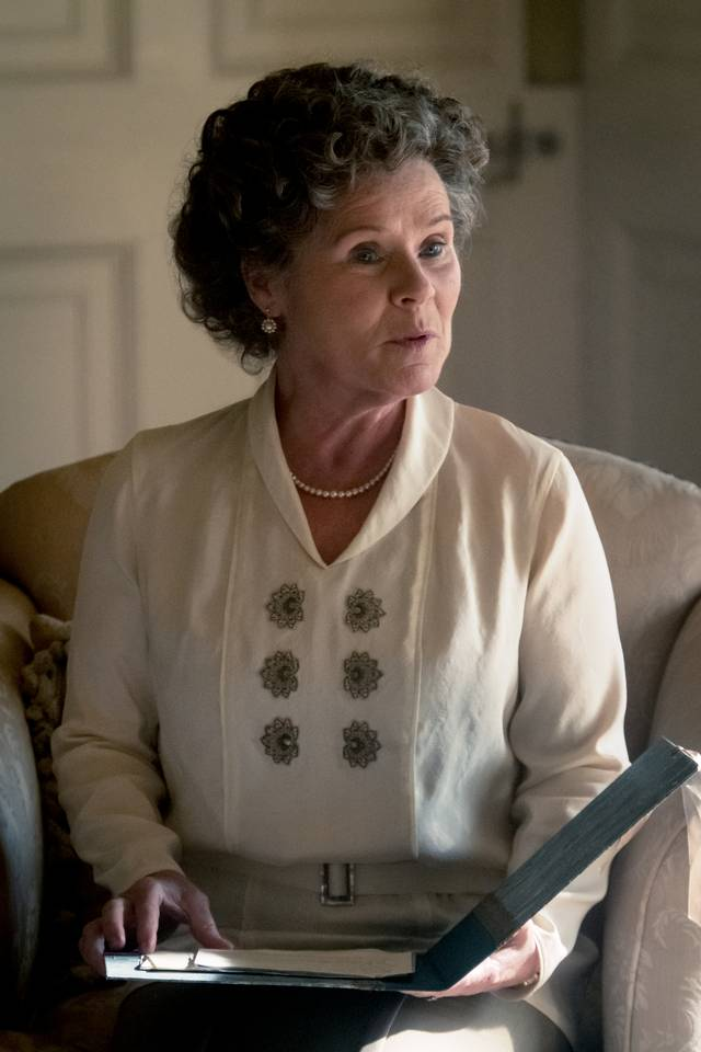 Downton Abbey Imelda Staunton foto dal film 1