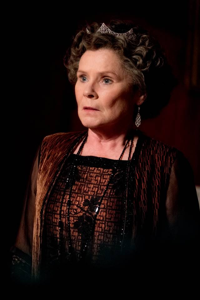 Downton Abbey Imelda Staunton foto dal film 2
