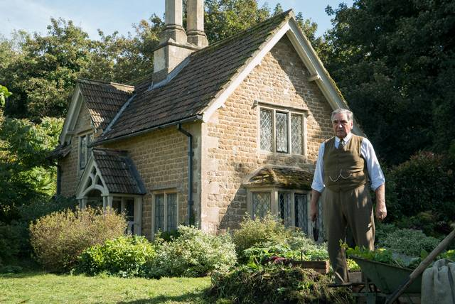 Downton Abbey Jim Carter foto dal film 1